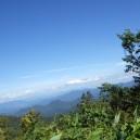 会津駒ヶ岳登山道からの眺め