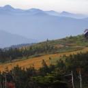 会津駒ヶ岳・駒の小屋付近からの眺め