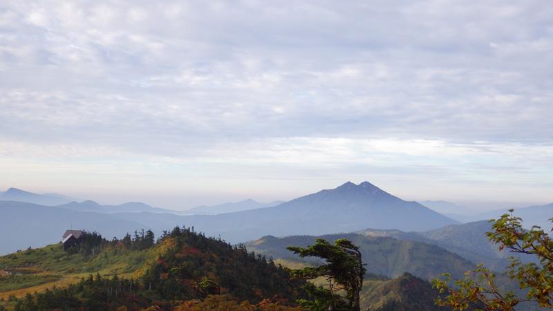 会津駒ヶ岳から見た尾瀬方面