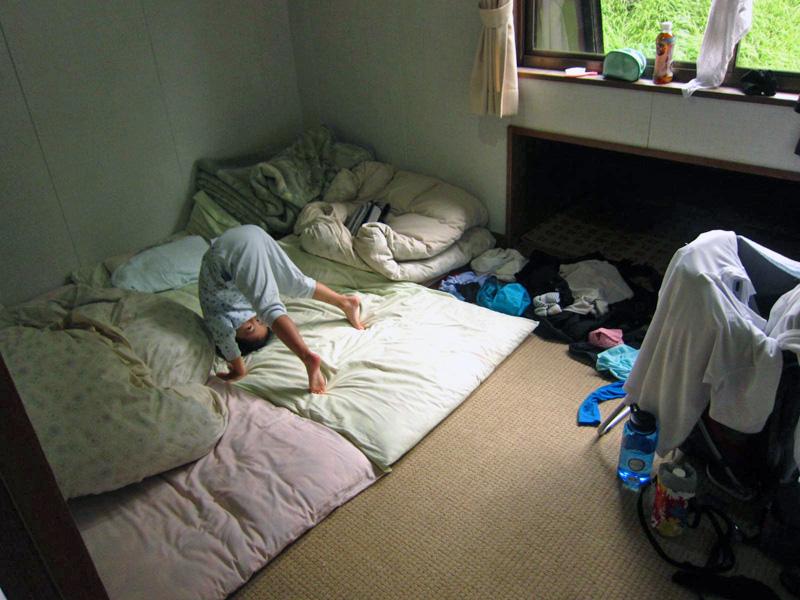オーレン小屋の個室
