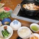 オーレン小屋の桜鍋
