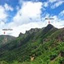 横岳と硫黄岳