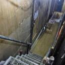 浴室への階段
