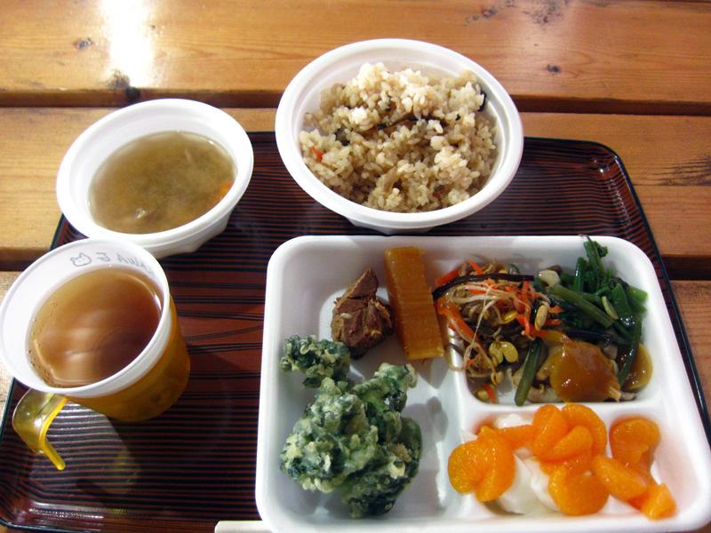 赤岳展望荘の夕食