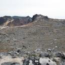 茶臼岳噴火口跡