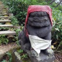 那須岳登山口の狛犬