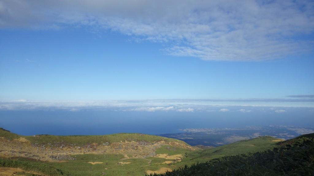 鳥海山・日本海の眺め
