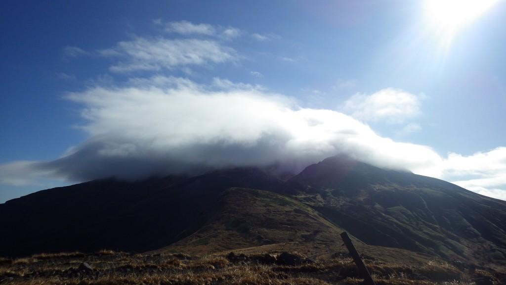 御田ヶ原から見た鳥海山