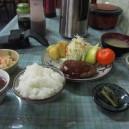 麦草ヒュッテの夕食
