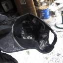 凍てつくおらの帽子