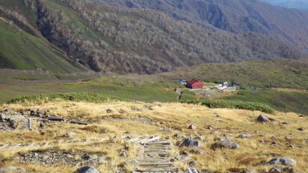 月山ペアリフト山頂駅
