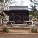 岳温泉神社にお参り