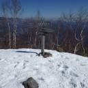 冬の黒檜山山頂(1828m)