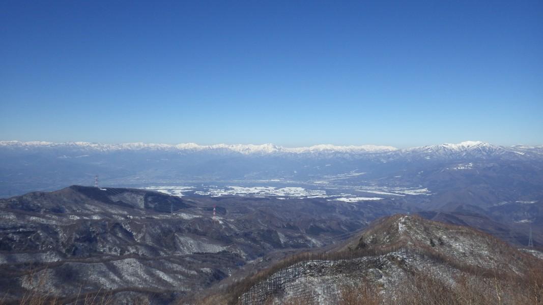 上越国境の山々