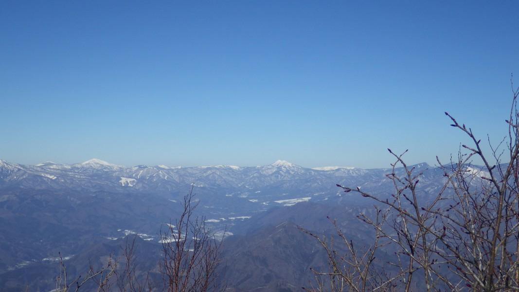 尾瀬の至仏山と燧ヶ岳