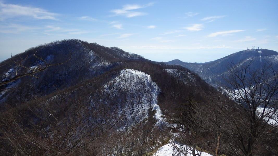 赤城山・駒ヶ岳へ登り返す