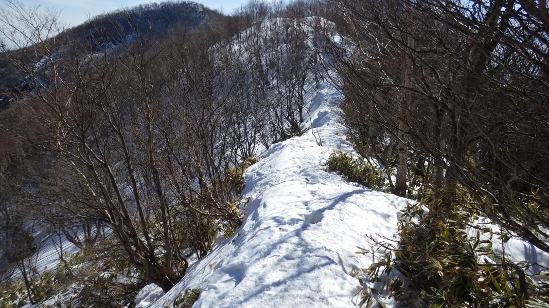 黒檜山~駒ヶ岳間