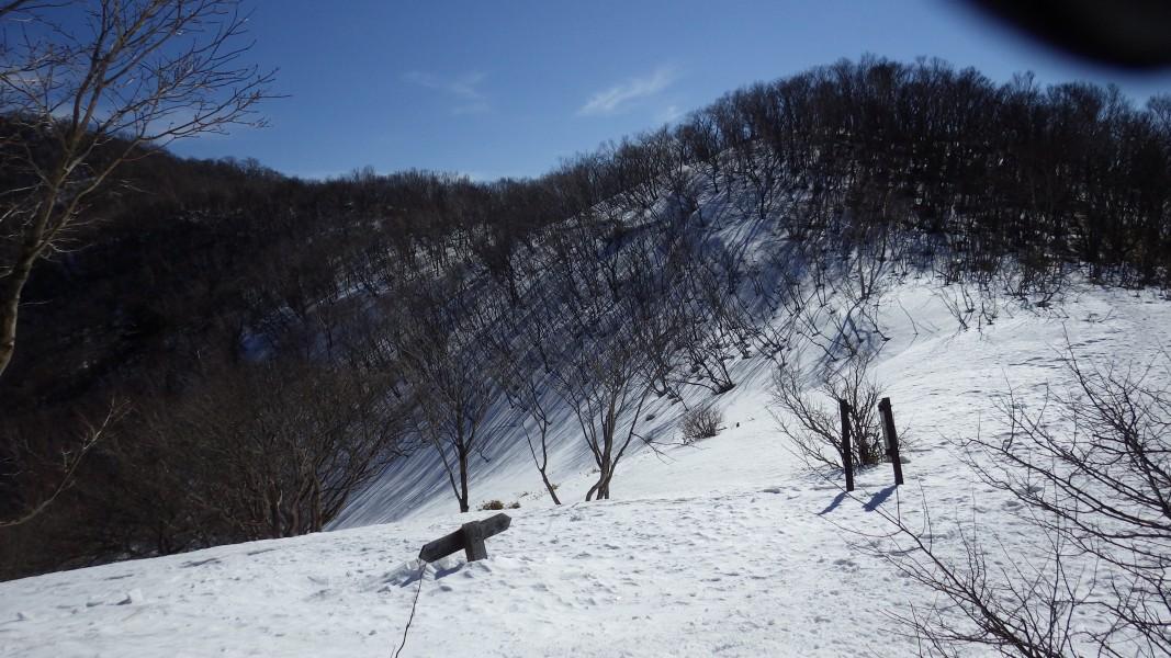 駒ヶ岳山頂手前