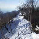 駒ヶ岳南側の稜線