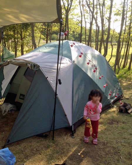 涸沼キャンプ場