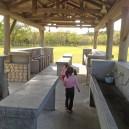 涸沼自然公園キャンプ場、炊事場の様子