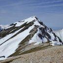 唐松岳山頂へ