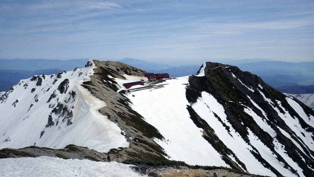 八方尾根スキー場ゴンドラ乗り場