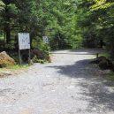 桜平登山口ゲート