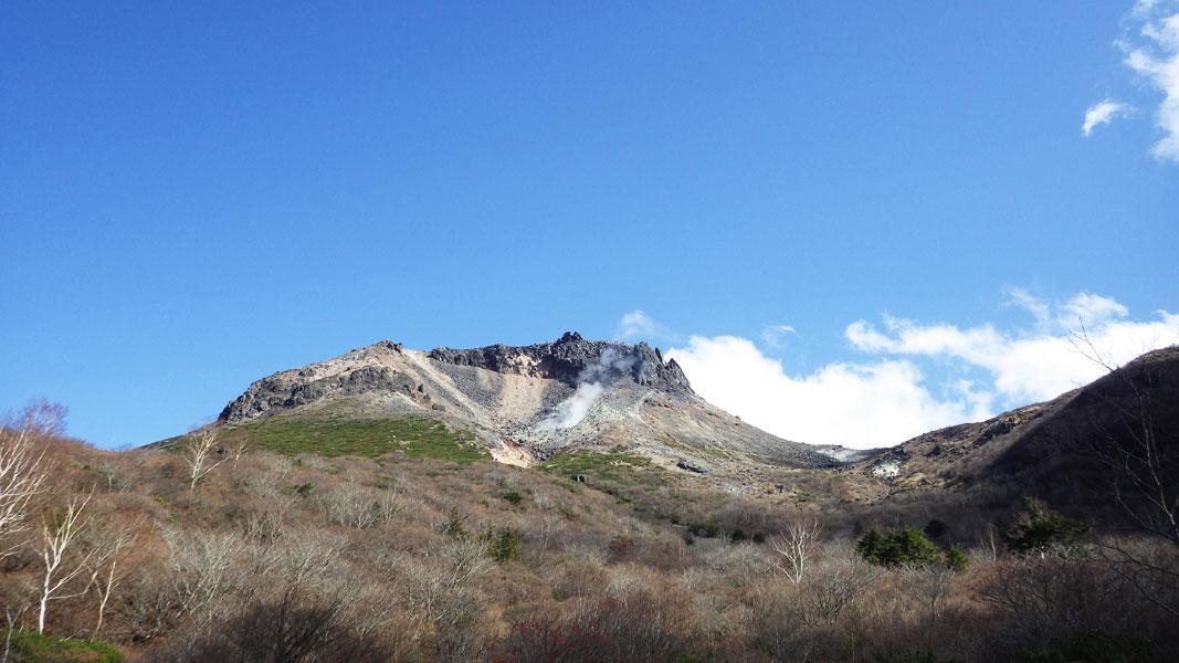 姥ヶ平から見た茶臼岳