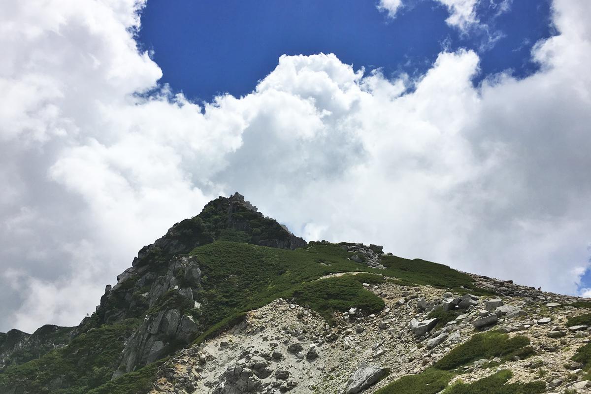 乗越浄土から見た宝剣岳