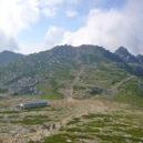 木曽駒から見たテント場