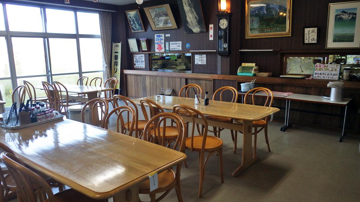 尾瀬温泉小屋食堂