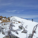 至仏山山頂手前