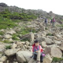 早池峰山のガレ場