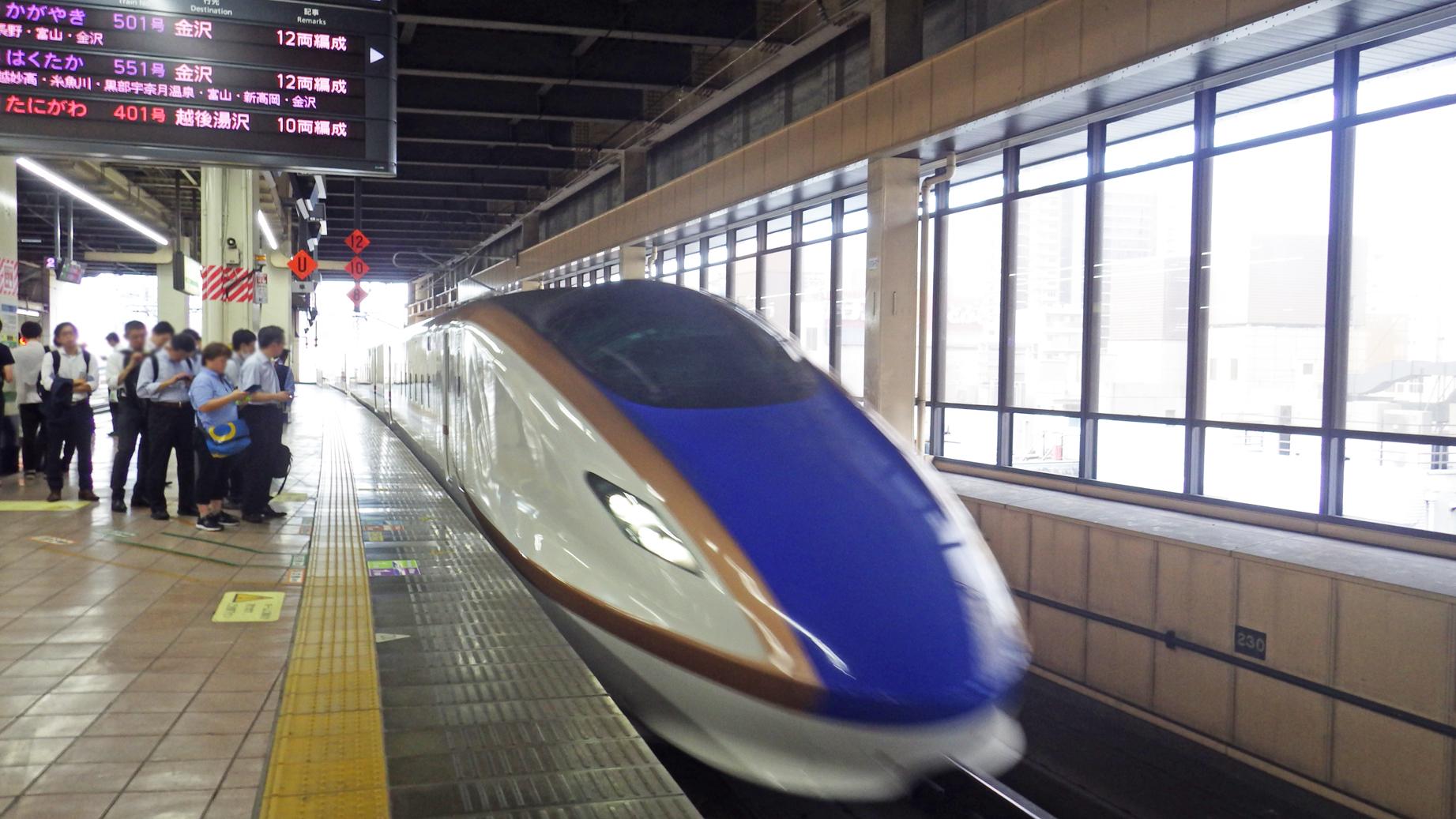 かがやき@大宮駅