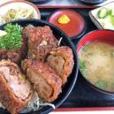 ソースカツ丼のヒレ