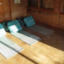 谷川岳・肩の小屋の寝床