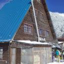 冬の縞枯山荘