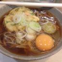 茅野駅の立ち食い蕎麦