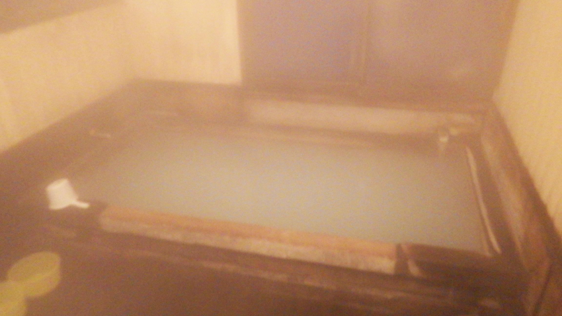 安達太良山くろがね小屋のお風呂