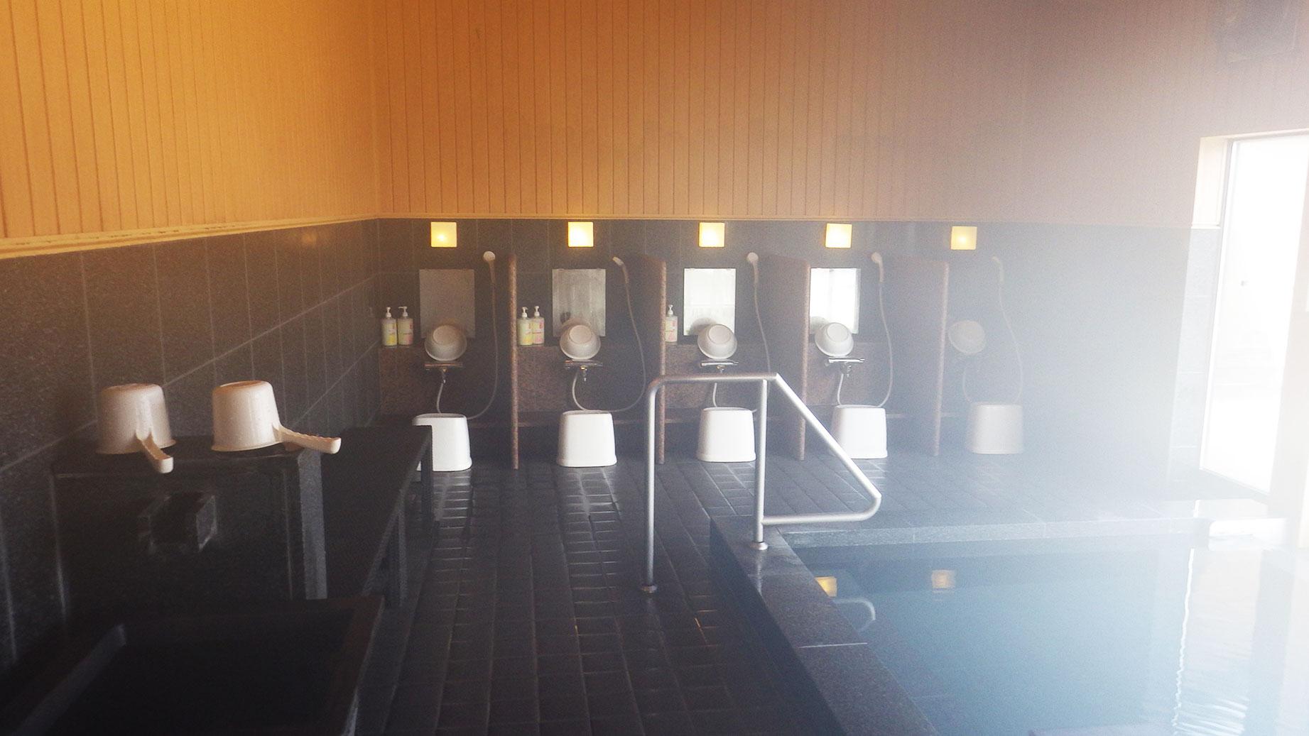 奥岳の湯・洗い場