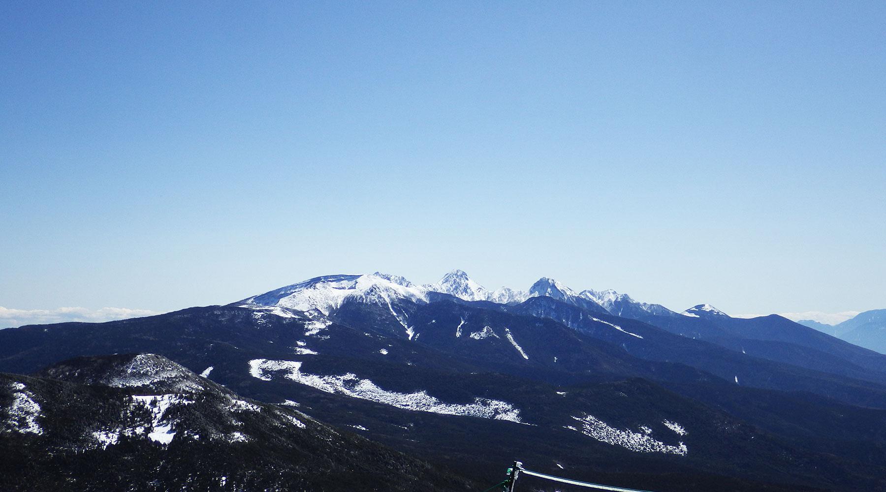 南八ヶ岳方面の眺め