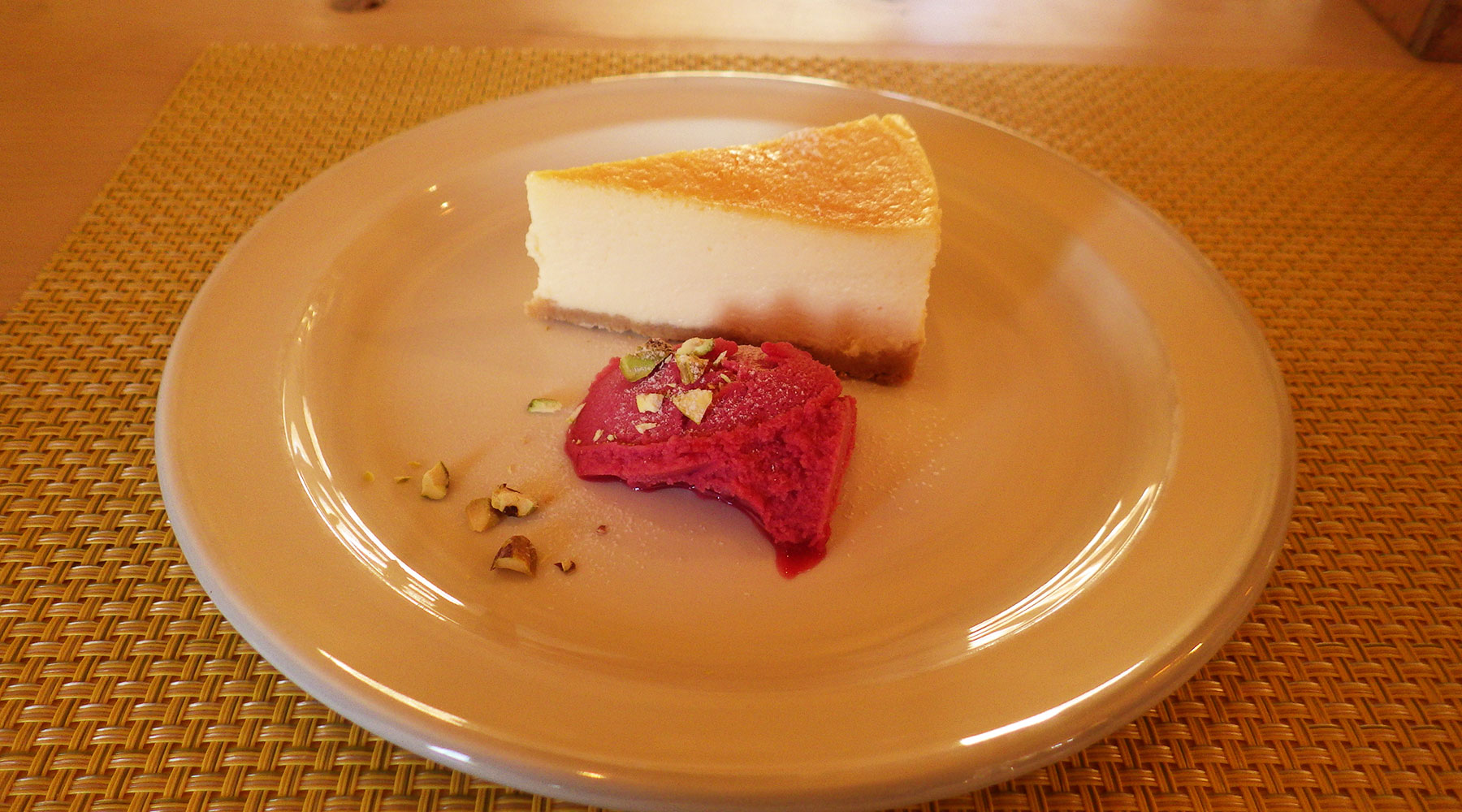 サンロクカフェ・チーズケーキ