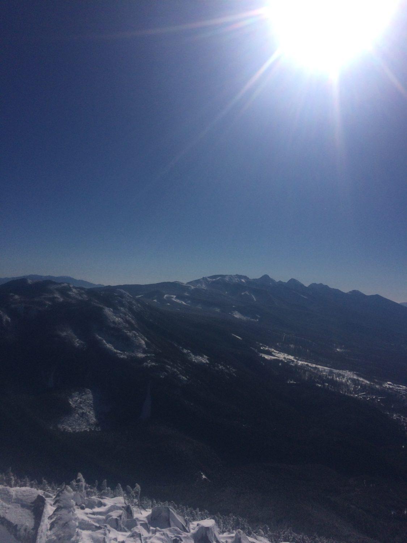 八ヶ岳連峰全体
