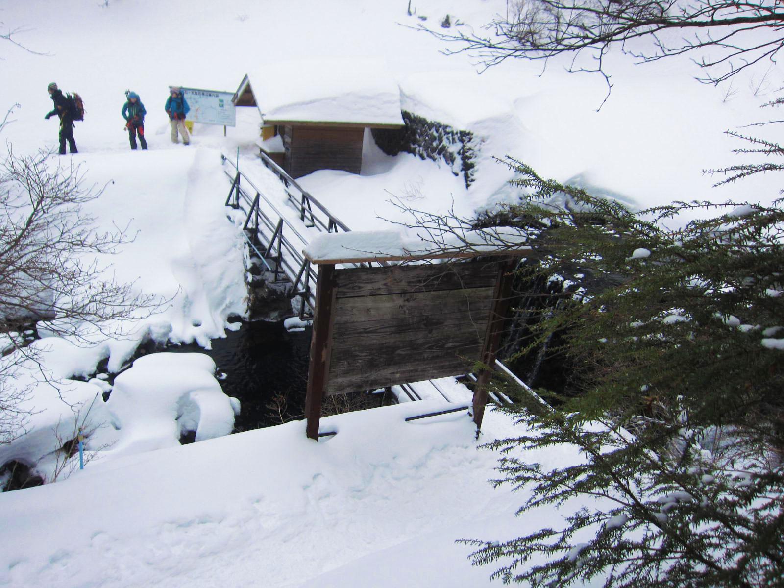 渋の湯登山口