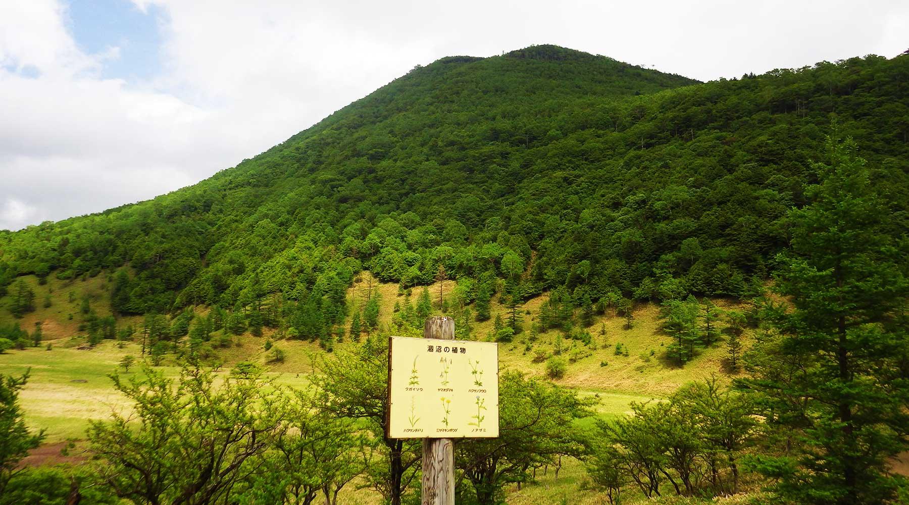山王帽子山 (2,077m)