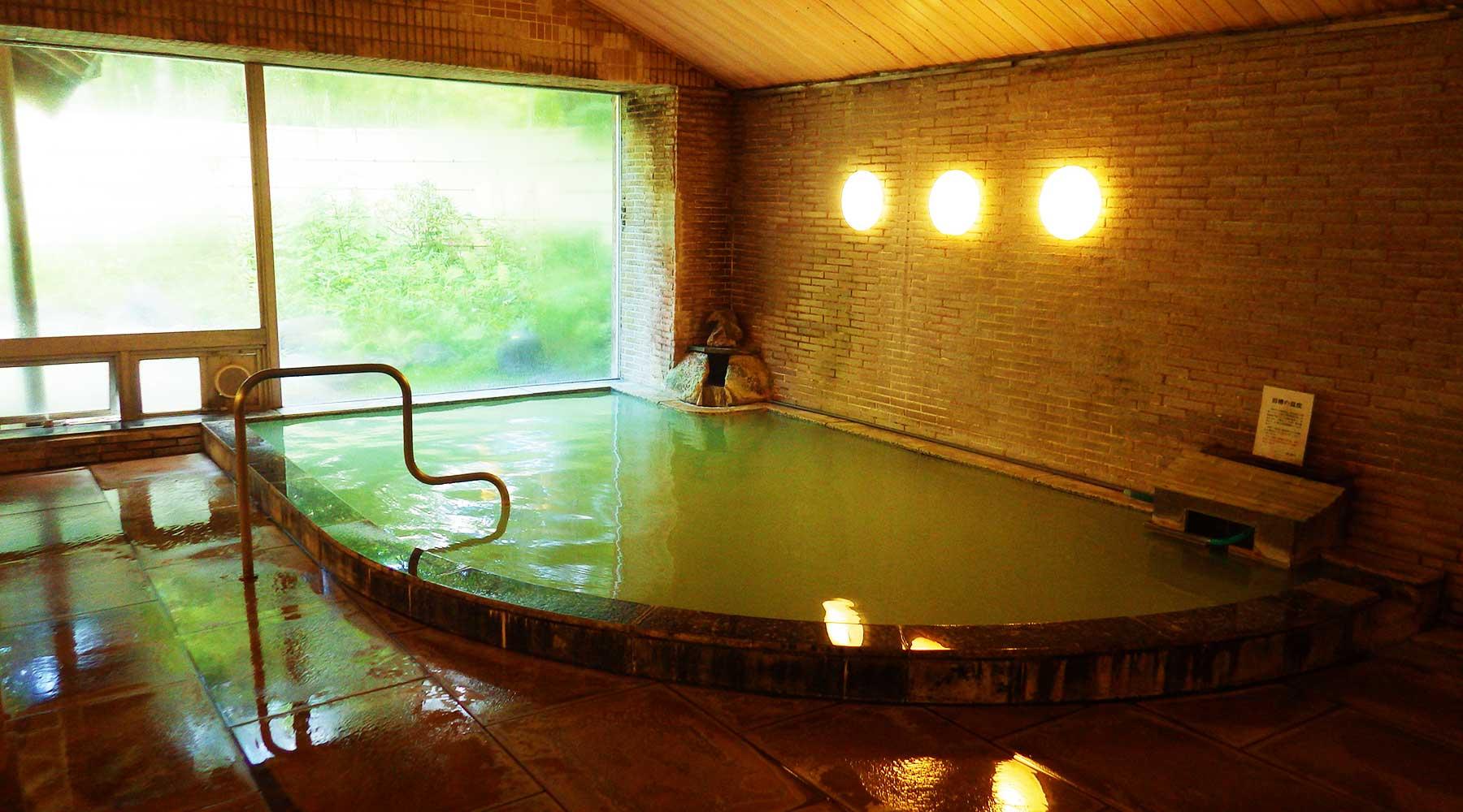 日光アストリアホテル、光徳温泉の内風呂