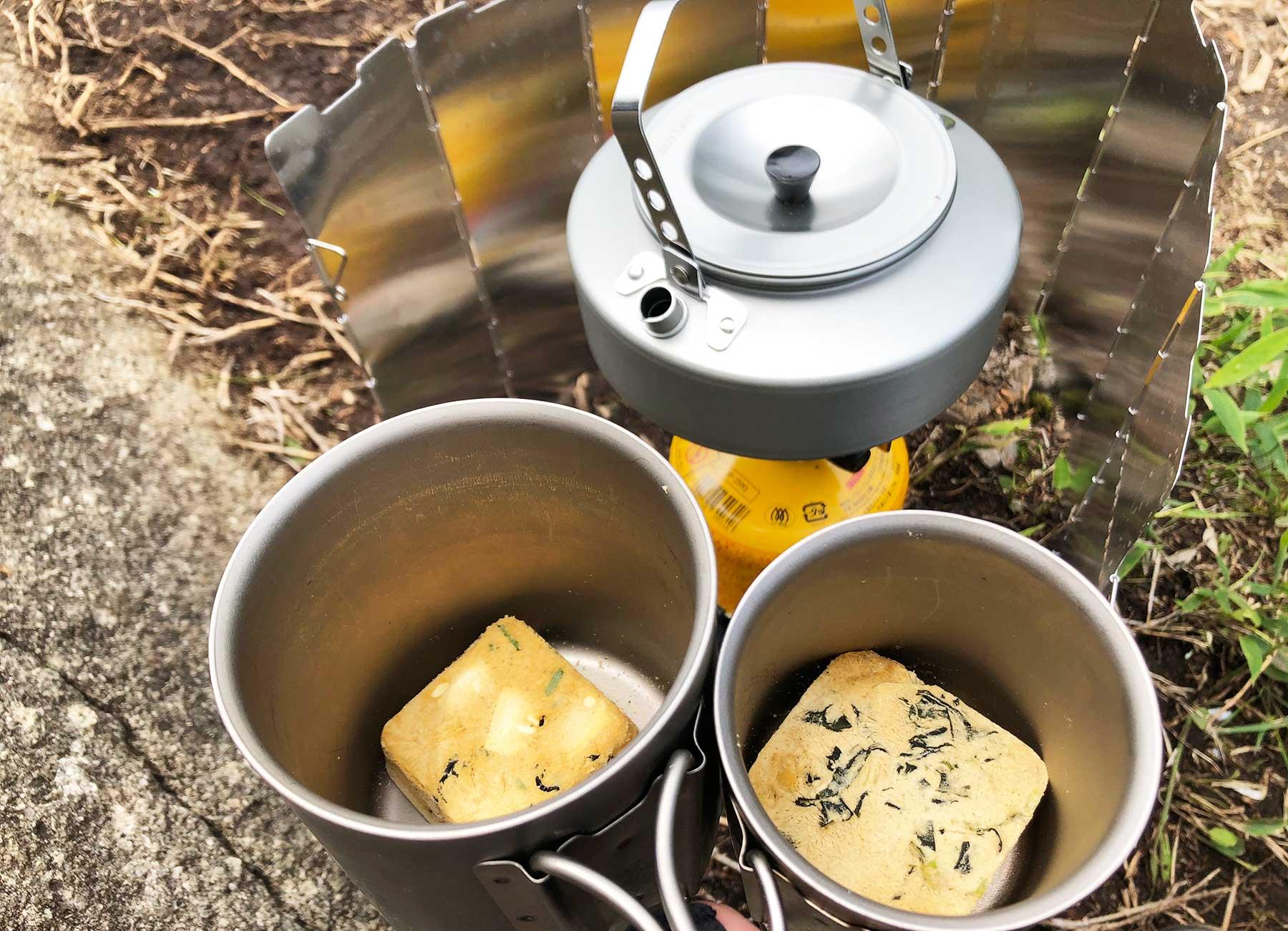 アマノフーズの味噌汁