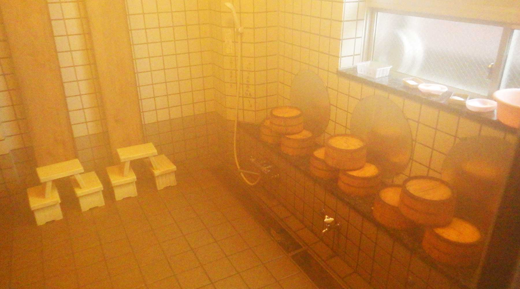 尾瀬温泉小屋の風呂