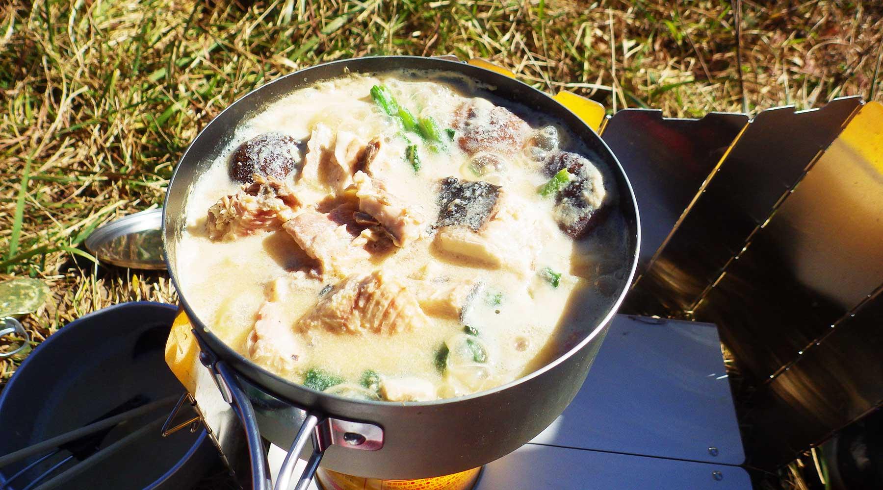石狩鍋焼きうどん